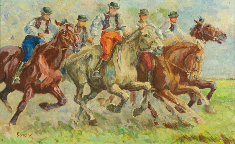 Bruno Darzino - Cavalli e cavalieri