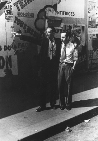 MAN RAY (1890 - 1976) Man Ray e Salvador Dalì a Parigi, 1934 1975 Stampa in...