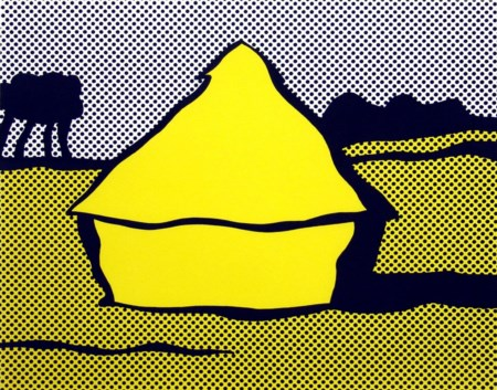 Roy Lichtenstein 1923, New York - 1997, New York - [USA] Yellow haystack...