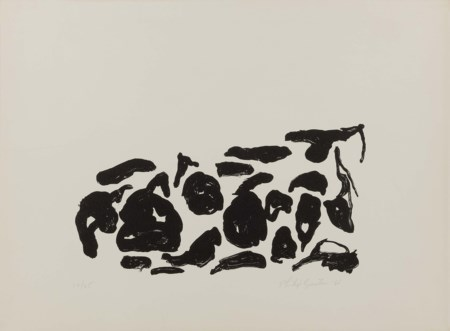 Philip Guston, Montreal 1913 - Woodstock 1980, Untitled, 1966, Litografia, es...