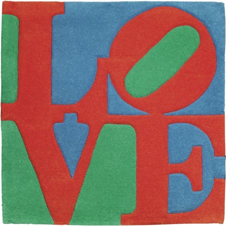 Robert Indiana, New Castle 1928 - Vinalhaven 2018, Classic Love, 2007,...