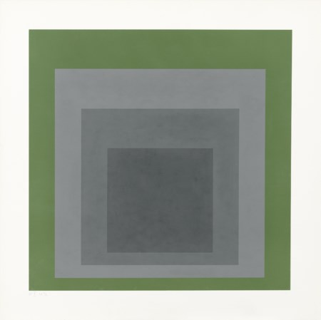 Josef Albers, Bottrop 1888 - New Haven 1976, Hommage to the Square SP III,...