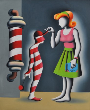 MARK KOSTABI Gnorance s-the rot of all evilGnorance s-the rot of all evil...