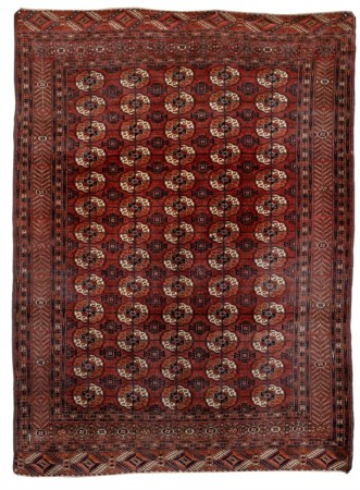Antique Royal Bukara russian rug