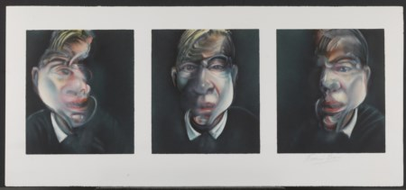 FRANCIS BACON Three Studies for a Self-Portrait.