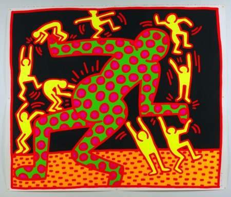 KEITH  HARING The fertility suite.