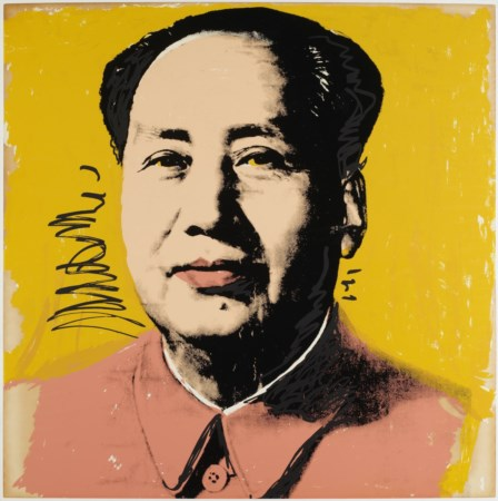 ANDY WARHOL Mao. .