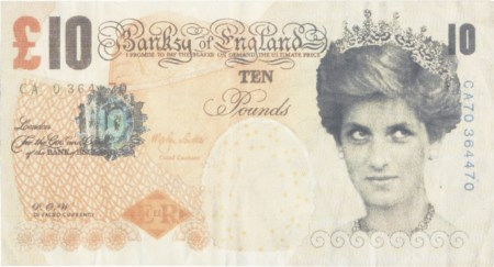 Banksy Bristol 1974 Di-faced Tenners (Banksy of England), (2004) Stampa...