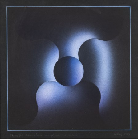 JULIO LE PARC Theme 78 a variation, 1979