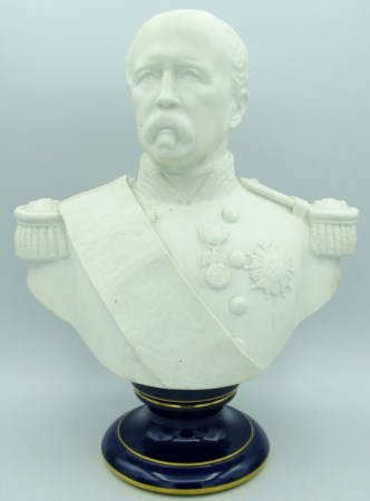 Manifattura di Sevres - A Sevres biscuit bust