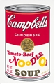 ANDY WARHOL<br>Pittsburgh, 1928 - New York, 1987 - Campbell's Condensed Tomato Beef Noodle O's (Serie II), 1969