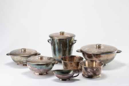 Gio Ponti (1891-1979)  - Pot set, anni '30