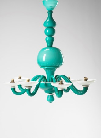 Gio Ponti (1891-1979)  - Suspension lamp mod. 5523, 1940 ca.