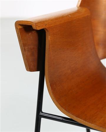 BALLY JURG (1923 - 2002) - Coppia di sedie produzione ...