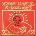 Keith Haring A VERY SPECIAL CHRISTMAS Disco in vinile con copertina in...