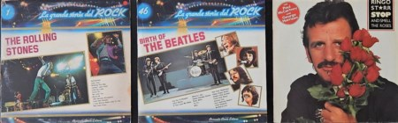 Autori Vari Lotto di 3 vinili 33 giri di Beatles e Rolling Stones: - The...