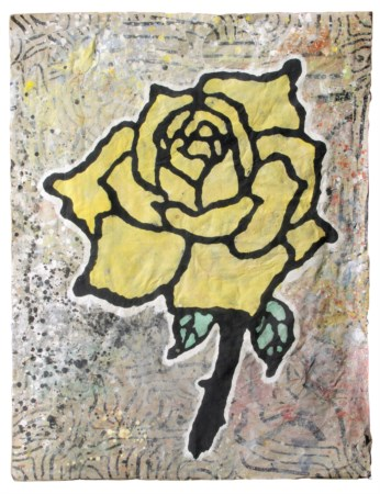 BAECHLER Donald, Yellow rose