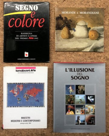 COLLETTIVE D'ARTE - Lotto unico di 4 cataloghi:
