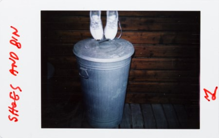 MASSIMO DE LUCA (1960) - Shoes and bin. From the banality series, 2019/2020
