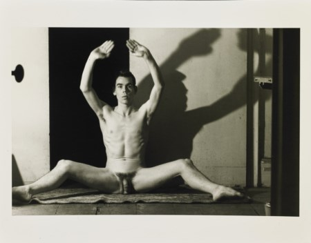 "FRENCH JARED (1905 - 1988) - Fotografia tratta dalla serie ""Studio di nudo Tennessee Williams""."