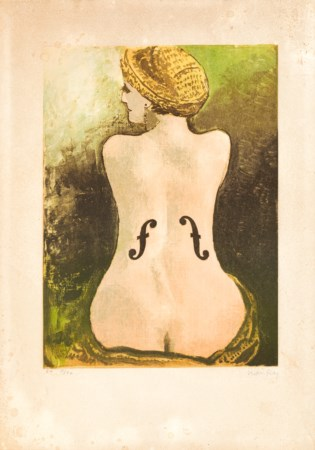 MAN RAY (1890-1976) - Le Violon d'Ingres, 1969