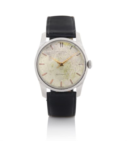 UNIVERSAL UNIVERSAL GENEVE CLIMATE PROOF AUTOMATIC ANNI '50.C. n. 1437398 in...