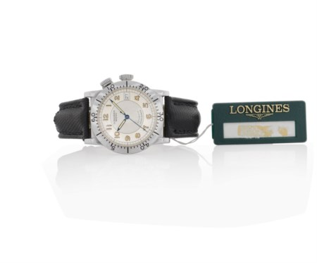 LONGINES LONGINES WEEMS NAVIGATION N. 457/3000 ANNI '90.C. in acciaio con...