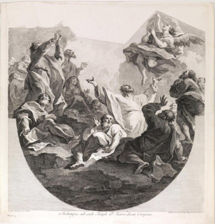 Bartolozzi, Francesco (Firenze 1728 – Lisbona 1815) L'ASCENSIONE...