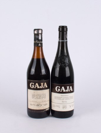 Barbaresco, Gaja ( 2 bt 0,75 lt.: 1 bt 1973, 1 bt 1975 )