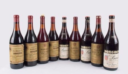 Barolo Selection ( Tot. 9 bt 0,75 lt.: 3 bt Borgogno 1980, 1 bt Elvio Cogno...