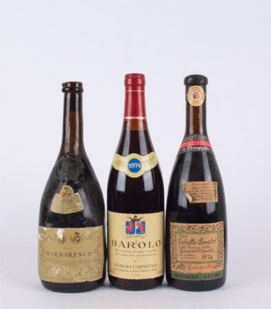 Piedmont Selection ( Tot. 3 bt 0,75 lt.: 1 bt Bersano Barbaresco Riseva...