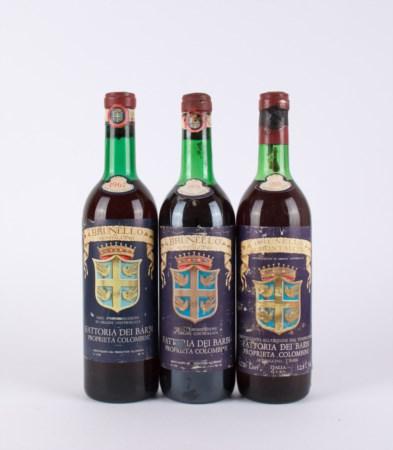 Brunello di Montalcino Barbi Vintage Selection ( Tot. 3 bt 0,75 lt. 1 bt...